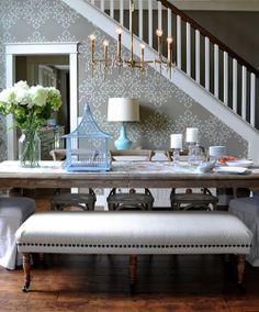 Grey Dining Room