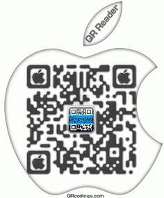 De QR Reader van TapMedia is een gratis QR scann app voor de iPhone en iPad, deze gratis QR scanner (2d barcode) is eenvoudige en makkelijk te gebruiken. De app werkt ook op iOS6 en de iPHONE 5. U kunt de QR lezer gratis op iTunes downloaden of als u al een QR reader heeft, kunt u de logo van apple hier boven  scannen.