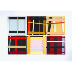 Imi Knoebel. INIGOSCOUT.com, blankets, abstract art, craft, cabins, ski chalet, freedom