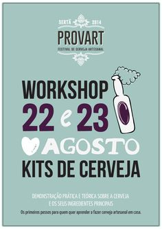 Workshop - Kit de Cerveja Artesanal
