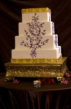 Simma's wedding cake