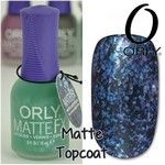 Orly Matte FX Collection - Matte FX Green Flakie Topcoat