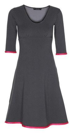 Stella Dress Micro Dot Grey/Pink - UDSALG – MANIA Copenhagen