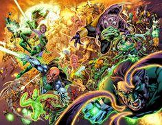 green lantern corps vs new gods - Google Search