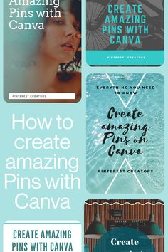 Find out more about how you can use Canva to create more engaging and beautiful content for Pinterest.