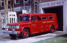 ◆Detroit, MI FD Rescue 6 ~ 1969 Dodge/Gerstenslager Rescue◆