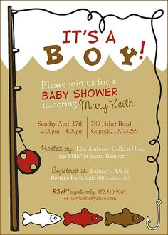 One Fish, Two Fish, Red Fish, Blue Fish. Baby Shower For Little Boy. | My  Insanity Party Party    Babies (Showers And B Days) | Pinterest | Blue, ...
