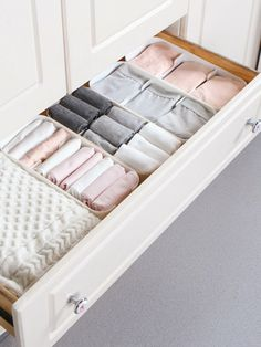 Aufbewahrung Product name: 3 Grid Storage Box at SHEIN, Category: Storage & Organization The Per Dresser Drawer Organization, Wardrobe Organisation, Dresser Drawers, Closet Organization, Organizing, Organization Ideas, Storage Rack, Storage Boxes, Drawer Organisers