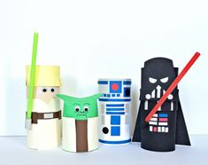 STAR WARS CHARACTERS TOILET TUBE CRAFT