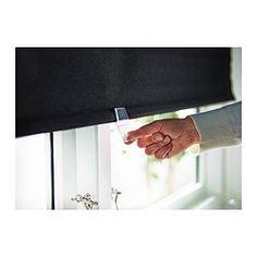 "TUPPLUR Block-out roller blind - 24x77 "" - IKEA $15"