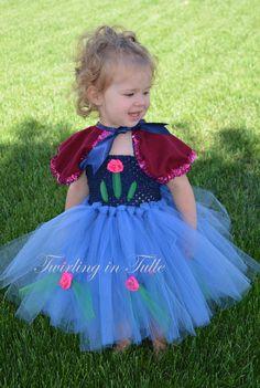Anna Costume Anna Dress Frozen Costume Frozen by TwirlinginTulle  sc 1 st  Pinterest & Baby Frozen Anna Costume Tutorial + Over 80 Costume Tutorials ...