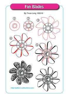 Fan Blades by Tricia Long