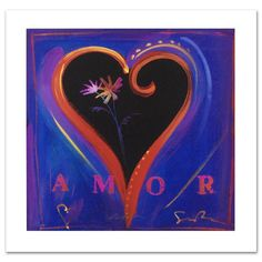 Simon Bull  Amor IV, L/E Lithograph, Numbered. signed with COA  4/100 very rare  | eBay