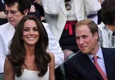 Pictures of Kate Middleton' Hair and Makeup at Wimbledon