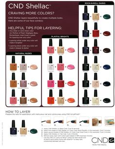 CND Shellac – Nail Colour Layering Guide | The Plastic Diaries Beauty Blog