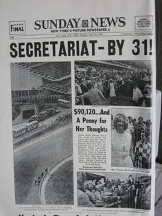 SECRETARIAT HEADLINES
