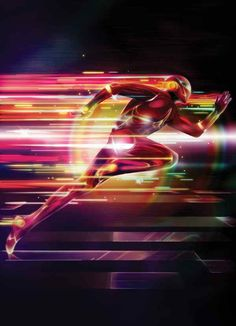 Lightning-Effects - Create A Glowing Superhero Using Photoshop