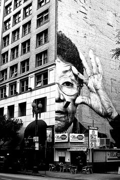 Street art in downtown Los Angeles