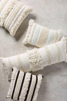 Textured Indira Pillow | Anthropologie