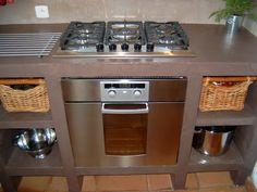 Barbecue cuisines and bricolage on pinterest - Cuisine en siporex photos ...