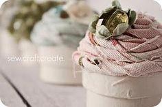 Cupcakes ...di stoffa ^^