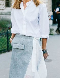 inspiration: white shirt