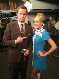 Carrie Underwood on the set of 'How I Met Your Mother'