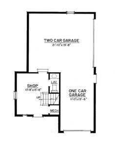 garage floor plan, just need to make it bigger