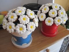 Made these cupcake bouquets for mother's day :)