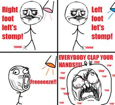 admit it. you go hard for the cha cha slide.
