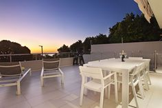 Ravensteyn - The Lazy Landlord Outdoor Furniture Sets, Outdoor Decor, Open Plan Living, Being A Landlord, Living Area, Villa, Dining Table, Patio, Modern