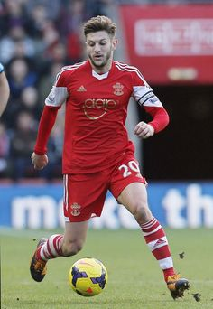 Adam Lallana of Southampton FC