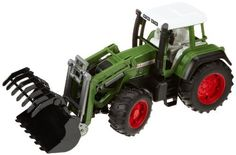 Fendt Favorit 926 Vario tractor with frontloader by Bruder. $38.75. Recommended Age Range 3+ Years. Constructed out of fade-resistant, high-quality ABS plastic, with no glue or screws. Made in Germany. Great for use indoors and outdoors. Realistic details and functions encourage imaginative play. From the Manufacturer                A front-loading tractor to handle all the jobs around the farm! Front tires turn with the use of the included steering arm, plus wheels ...