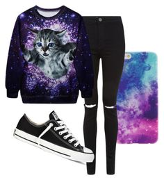 """Untitled #175"" by manon-one-direction1806 ❤ liked on Polyvore featuring Converse"