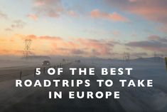 5 of the Best Roadtr
