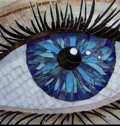 Mosaic eye eyeball