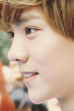 Luhan. I know that his eyes are just plain brown... But they are the most beautiful plain brown eyes out there.