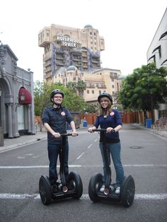 Segway Tour at Disney's California Adventures. I want to do this again!