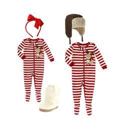 Holiday jammies look got this for my littles