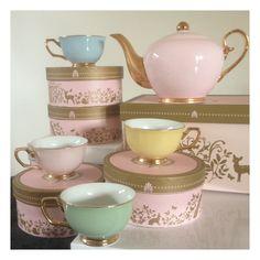 Cristina Re High Tea Set via Starts with Cupcakes