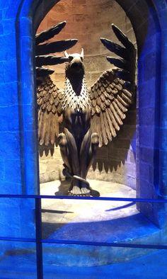 Lift to Dumbledore room