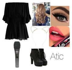 """""""Untitled #38"""" by denisebrione on Polyvore featuring Chicwish, Fiebiger and Lipsy"""