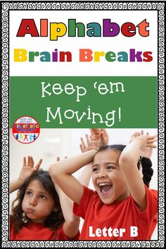 Freebie! Your kids will love moving, using their imaginations, and just being silly with this alphabet action PowerPoint presentation for the letter B.  It includes 32 slides. Just project it and go through as many or as few of the slides as you have time for. Make it cross-curricular by having them perform the actions while counting to ten, or singing the alphabet, or counting by twos. The possibilities are endless!