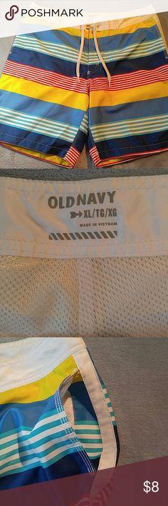 Old Navy Mens Swim Trunks Worn once, like new. Size XL, has pockets! Old Navy Swim Swim Trunks