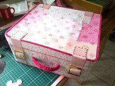 Cake suitcase.
