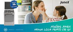 Junex com campanha de Fogões a nível nacional