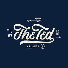 Final design to commemorate The Ted! I'm printing tshirts and they should be available for purchase in the next week or so. Stay tuned! #theted #endofanera #atlanta