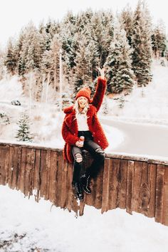 New Photography Poses Women Winter Snow Ideas Winter Mode Outfits, Winter Fashion Outfits, Autumn Fashion, Fashion Fashion, Womens Fashion, Fashion Trends, Snow Fashion, Fashion Styles, Photography Poses Women