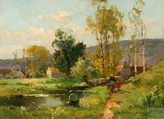 Bright Impressionistic Paintings by Edouard Leon Cortes - AmO Images - AmO Images