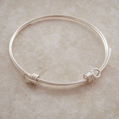 Wire Bangle Bracelet Tutorial